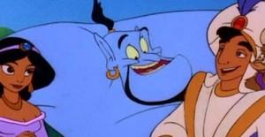 Poster banner de Aladdin