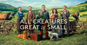 Poster banner de All Creatures Great and Small