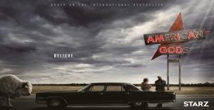 Poster banner de American Gods