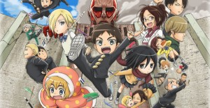 Poster banner de Attack on Titan: Junior High