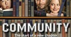 Poster banner de Community