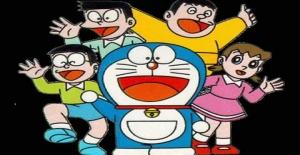 Poster banner de Doraemon, el gato cósmico