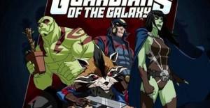 Poster banner de Guardianes de la Galaxia