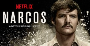 Poster banner de Narcos