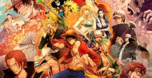 Poster banner de One Piece