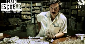 Poster banner de Pablo Escobar, el patrón del mal