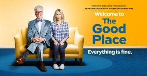 Poster banner de The Good Place