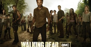 Poster banner de The Walking Dead