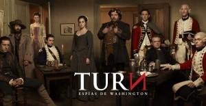 Poster banner de TURN: Espías en Washington