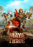 Poster pequeño de Maya y los tres