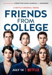 Poster de Amigos de la universidad