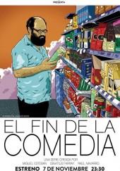 Poster de El fin de la comedia