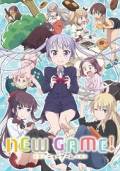 Poster de New Game!