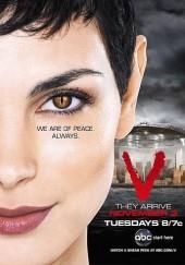 Poster de V, los visitantes